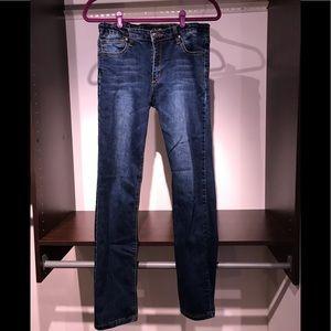 Dark wash skinny straight Joe's Jeans big boys 16